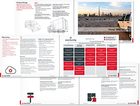 Request a merchlin Brochure
