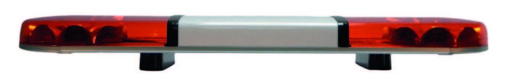 Titan Lightbar Four R65 Class I approved flash patterns (single, double, triple & quad flash)