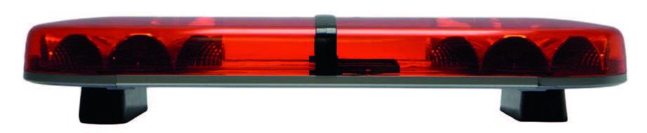 Titan Lightbar360° high performance optics for improved safety